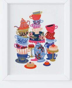 Affiche Rifle Paper Co Teacups