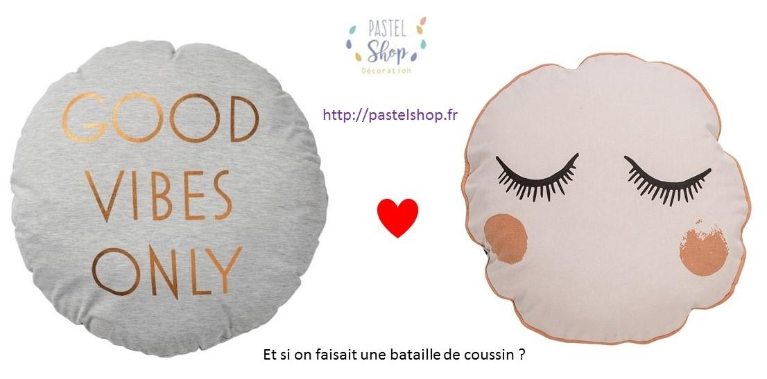 Coussins d co sur pastel shop pastel shop - Beaux coussins design ...