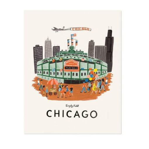 Affiche Chicago Rifle Paper Co