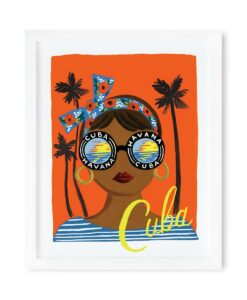 Affiche Cuba Rifle Paper Co 2 Formats au choix