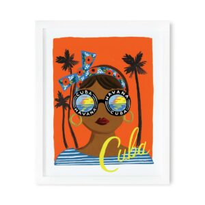 Affiche Cuba Rifle Paper Co