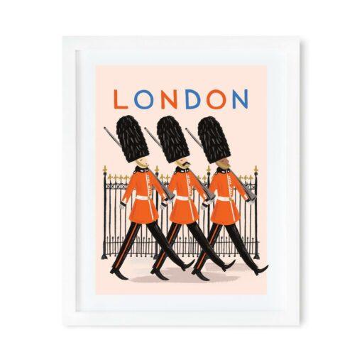 Affiche Londres Rifle Paper Co