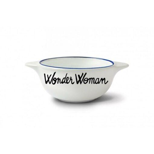 Bol breton Pied de Poule Wonder woman