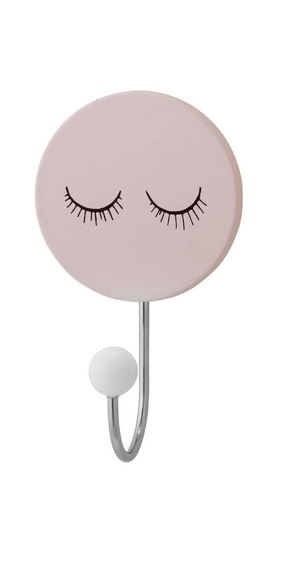 Patère visage rose pâle Bloomingville Mini