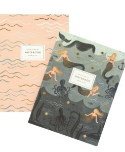 Carnets Sirène Rifle Paper Co lot de 2