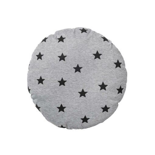 Coussin rond Bloomingville motif étoiles