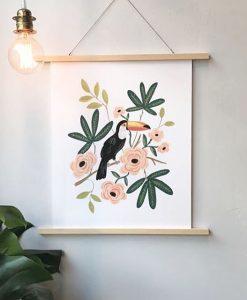 Affiche Toucan Rifle Paper Co