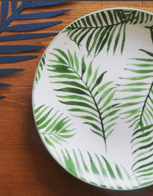 Assiette Végétale Bloomingville (20 cm)