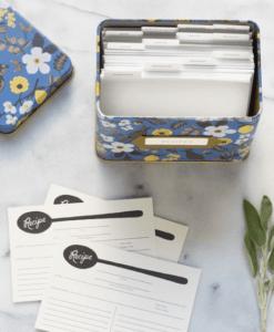 Boîte à recettes Rifle Paper Co Capri