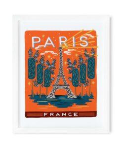 Affiche Paris