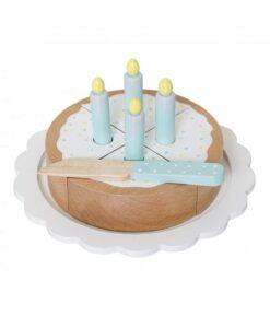 Jeu gâteau d'anniversaire bois Bloomingville Mini