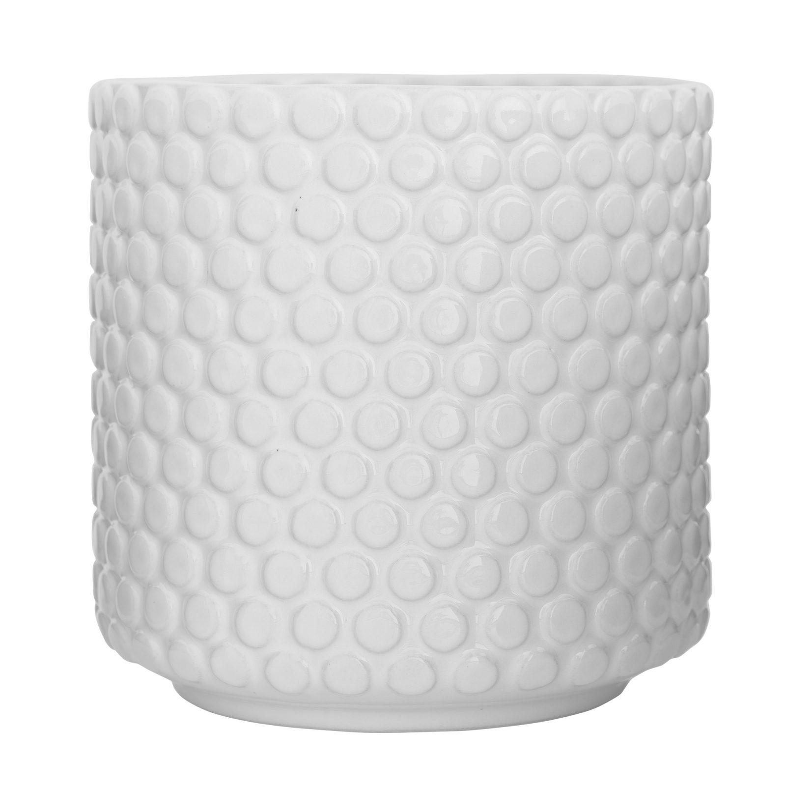 cache pot bloomingville bulles blanc pastel shop. Black Bedroom Furniture Sets. Home Design Ideas