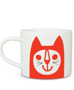 Mug Red Cat Jane Foster