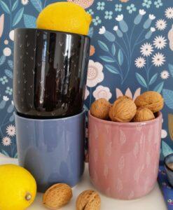 Pot Blooomingville bleu