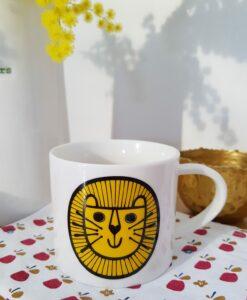 mug lion jane foster tasse animals pastelshopfr