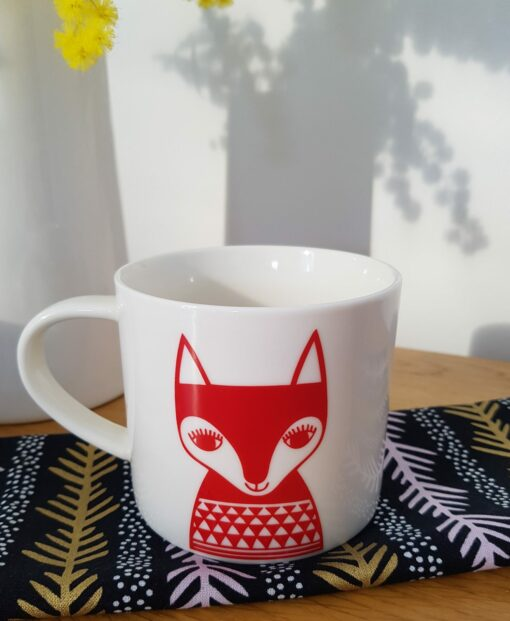 Mug Red Fox Jane Foster