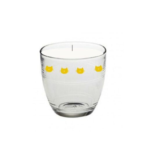 Bougie Cupcake citron Bandjo