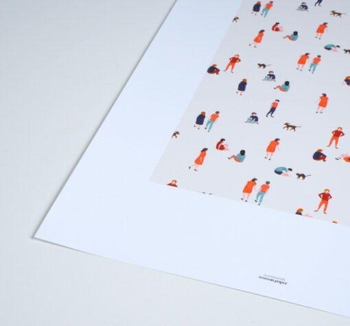 Affiche Promenade Season Paper