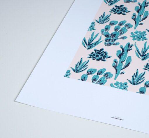 Affiche Cactées Season Paper