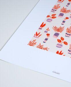 Affiche Jardin d'hiver Season Paper