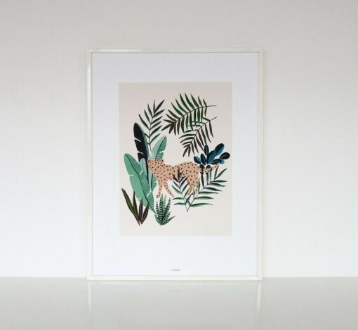 Affiche Leopard Season Paper