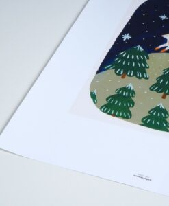 Affiche Renard blanc Season Paper