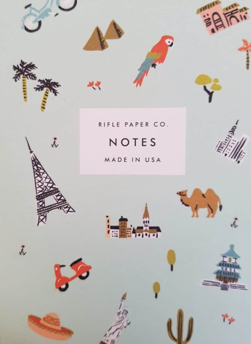 Carnet Wanderlust Rifle Paper Co