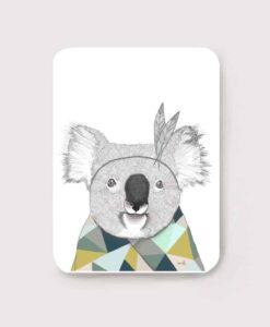 Carte postale Minimel Koala