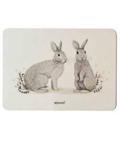 Carte Spring Rabbits Minimel
