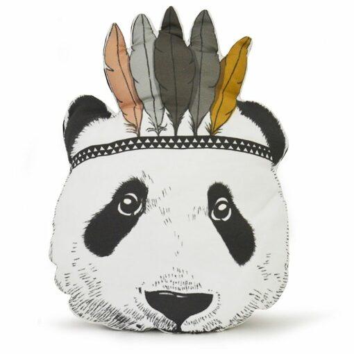 Coussin Panda Indien Minimel