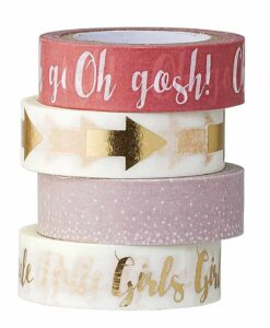 Masking Tape Rose Girls Bloomingvlle x4