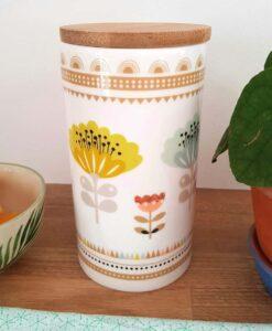 Pot de conservation Mini Labo Fleurs