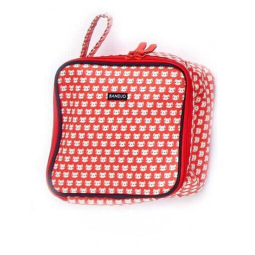 Lunch bag Chat rouge