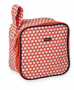 Trousse / Lunch box Bandjo Chat rouge