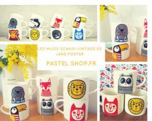 Jane Foster pastel Shop