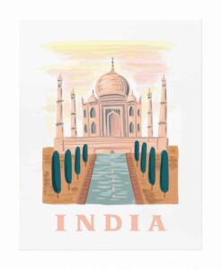 Affiche Rifle Paper Co Inde