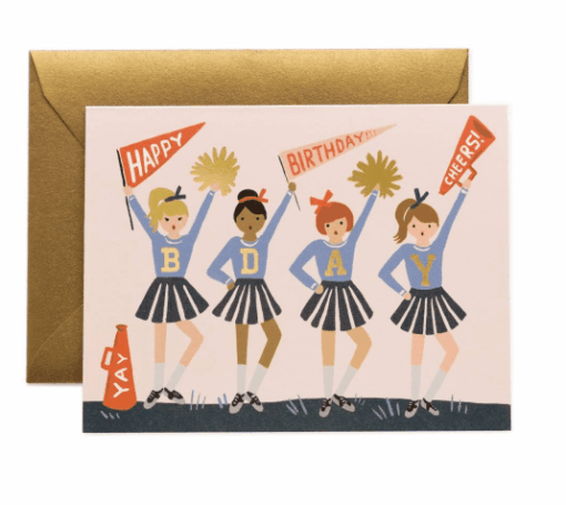 Carte Rifle Paper Co Cheerleader