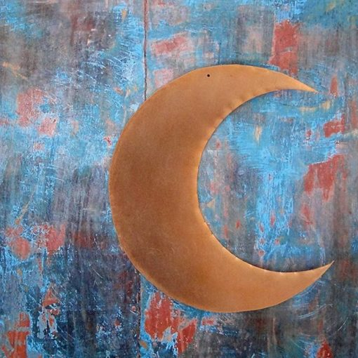 Grande Lune laiton dorée