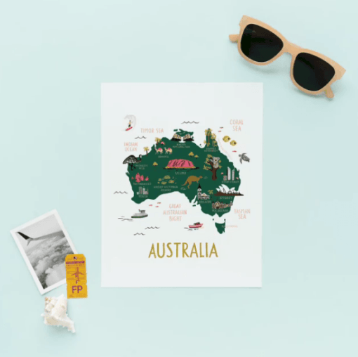 Affiche Rifle Paper Co Australie