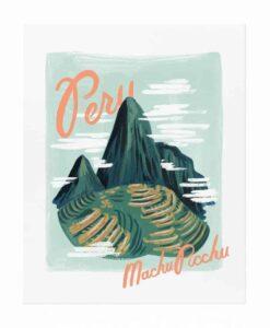 Affiche Rifle Paper Pérou