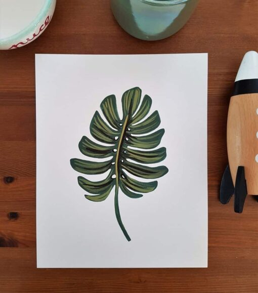 Affiche Monstera Rifle Paper Co