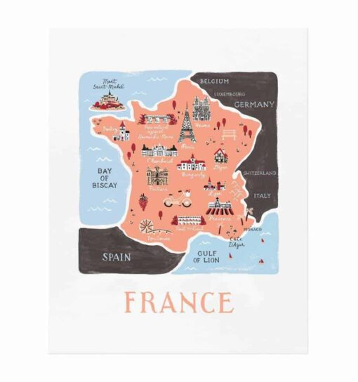 Affiche Rifle Paper Co France