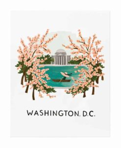 Affiche Rifle Paper Co Washington