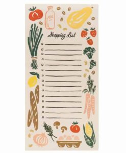 Bloc-notes Rifle Paper Co Fruits et Légumes
