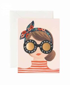 Carte anniversaire Rifle Paper Co Birthday Girl