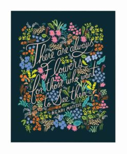Affiche Rifle Paper Matisse Quote
