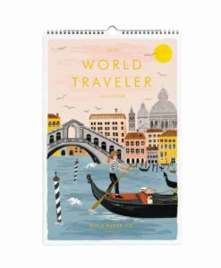 Calendrier Rifle Paper Co World Traveler 2019