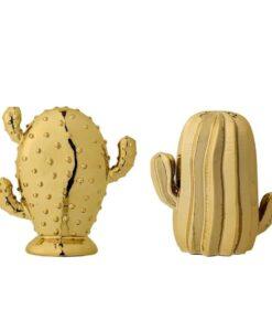 Cactus brillant doré Bloomingville x2