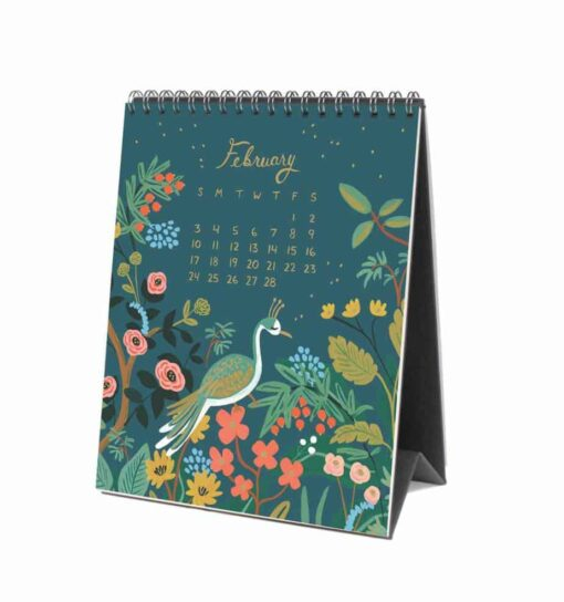 Calendrier 2019 Rifle Paper Co Menagerie