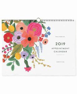 Calendrier Rifle Paper Co Garden Party 2019